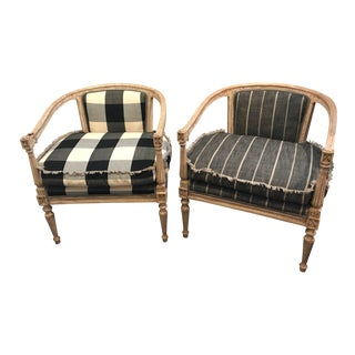Swedish Vintage Armchair - Buffalo Check