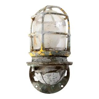 Vintage Ship Light Sconce