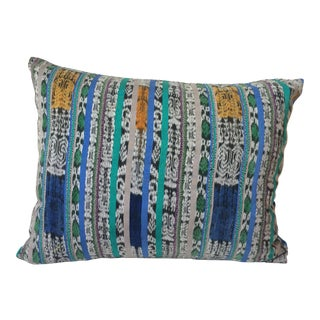 Handmade Mayan Corte Fabric Throw Pillow