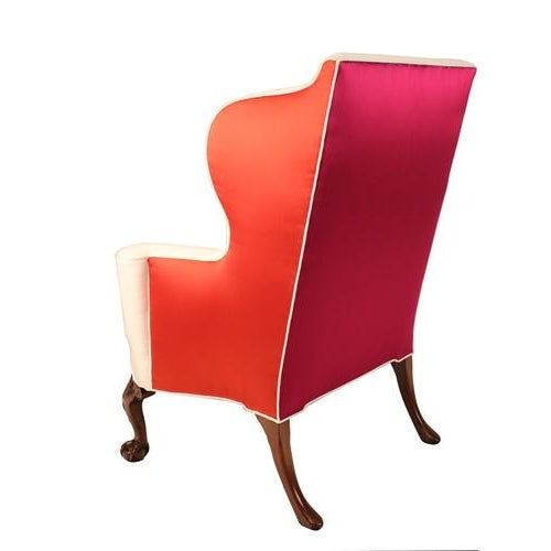 Image of Thomas Chippendale English Wing Chairs - Pair