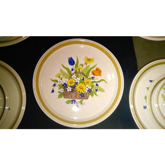 1950s Vintage Japanese Mikasa Stone Manor Garden Bouquet - Set of 54 - Image 8 of 10