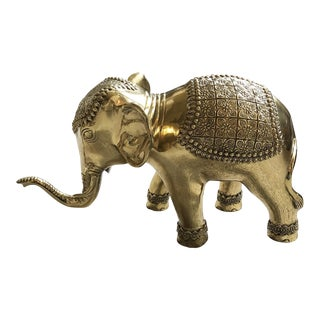 Solid Brass Indian Elephant