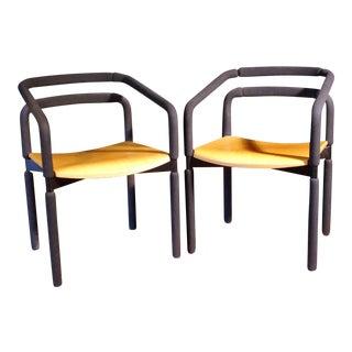 Brian Kane Rubber Armchairs - A Pair