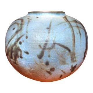 Signed Toshiko Takaezu Pottery Vase