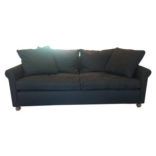 Cisco Brothers Charcoal Beverly Custom Couch