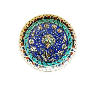 Old Ottoman Iznik Carnation Pattern Plate