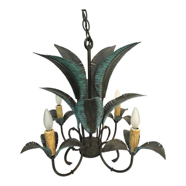 Arte De Mexico Palm Tree Chandelier - Image 1 of 7