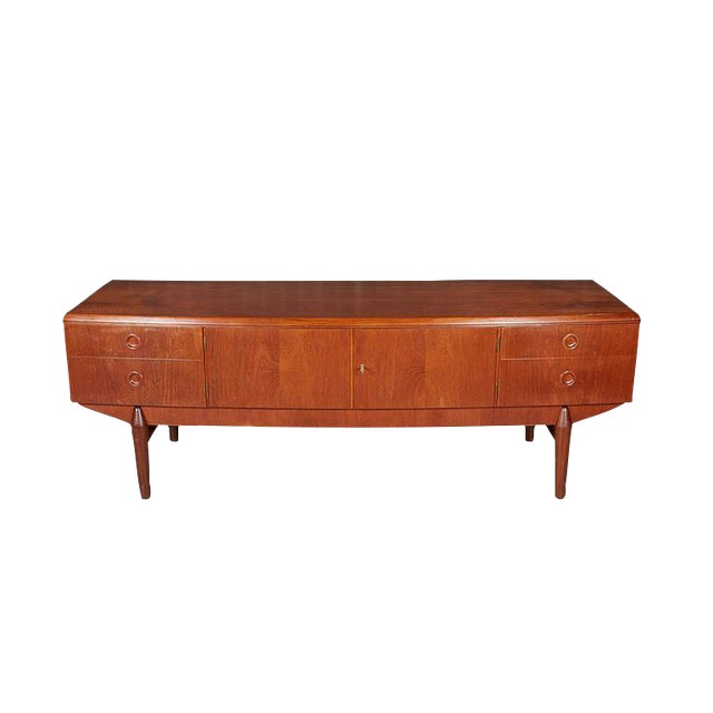 Danish Modern Teak Sideboard - Image 1 of 7