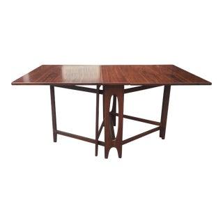 Danish Modern Drop Leaf Table