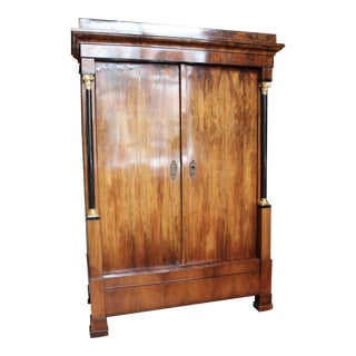 1820 Antique Biedermeier Armoire