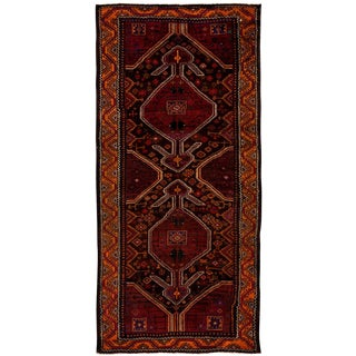 """New Tribal Hand Knotted Area Rug - 4'3"""" x 9'3"""""""