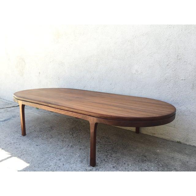 Mid-Century Walnut Coffee Table - Image 11 of 11