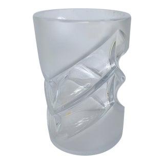 Peill & Putzler German Mid-Century Crystal Vase