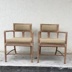 Image of McGuire Manhattan Chairs - Set of 4