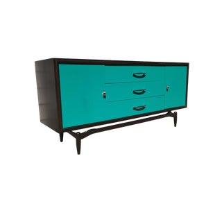 Turquoise & Ebony Floating Base Dresser