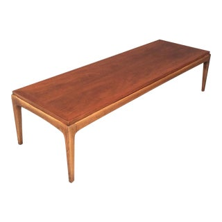 Mid-Century Walnut Lane Coffee Table