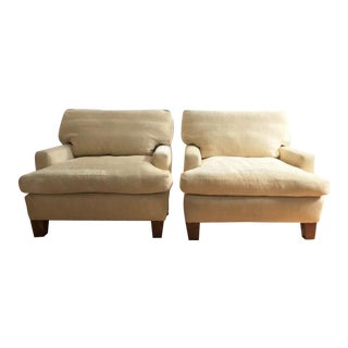 Baker Modern Lounge Chairs - a Pair