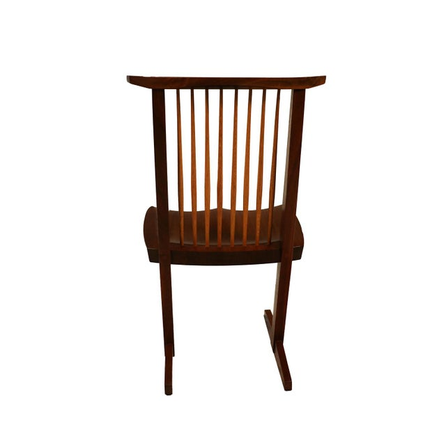 George Nakashima Conoid Chairs - A Pair - Image 9 of 11