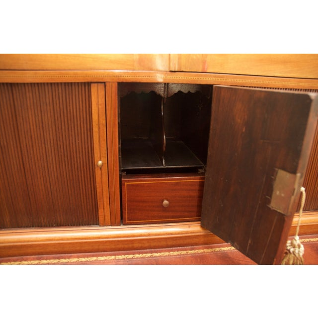 Antique Federal Style Mahogany Secretary Desk - Image 10 of 10