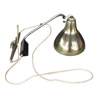 Brass Pull Down Lamp Light Fixture