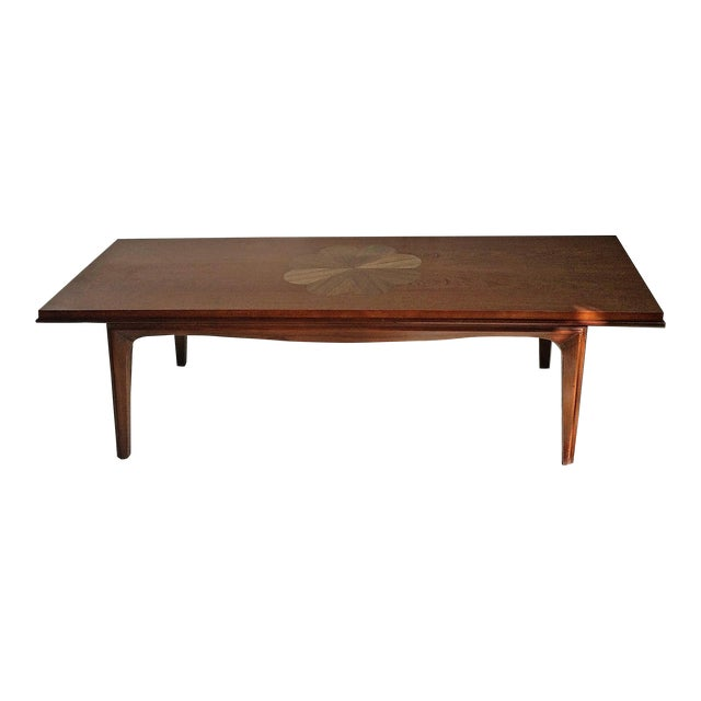 Mid-Century Modern Lane Coffee Table - Image 1 of 9