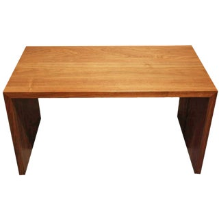 Vioski Solid Walnut Hand Crafted Coffee Table