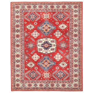 Pasargad Kazak Wool Rug - 9′1″ × 11′5″