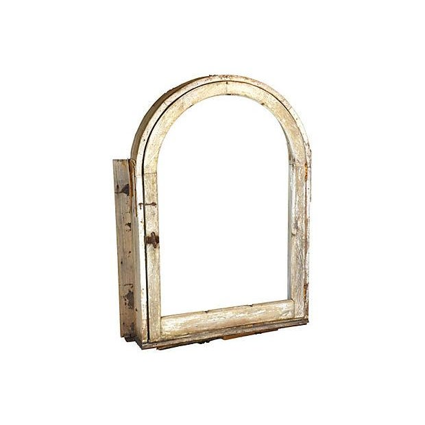 European Arched Window Frame - Image 1 of 6