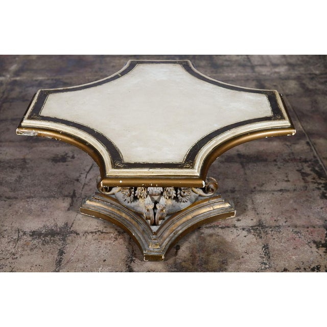 Venetian End Tables with Rococo Pedestals - A Pair - Image 3 of 11