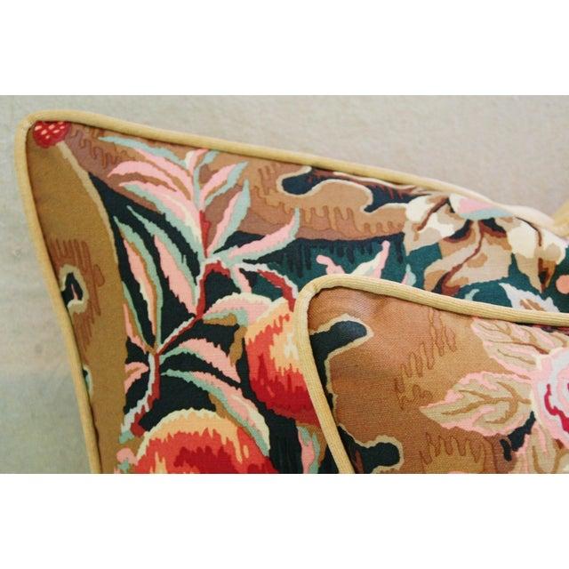 Designer Brunschwig & Fils Filoli Pillows - Pair - Image 8 of 11