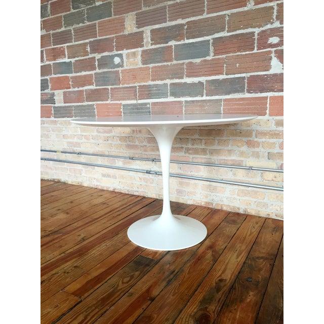 Image of 1957 Eero Saarinen Tables - A Pair