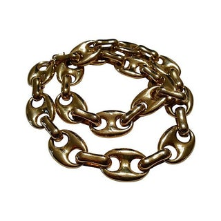 Chunky Mariner Link Chain Necklace