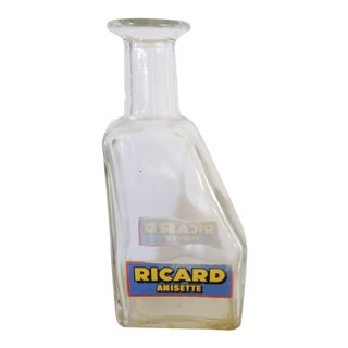 French Clear Glass Ricard Carafe
