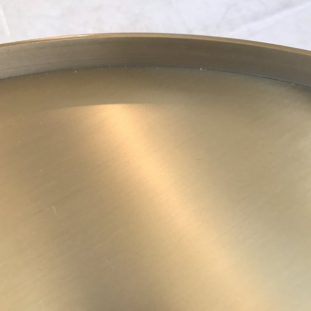 Gold Low Side Table - Image 5 of 6