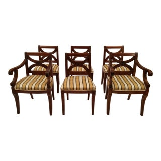Regency Style Dining Chairs- Set of 6