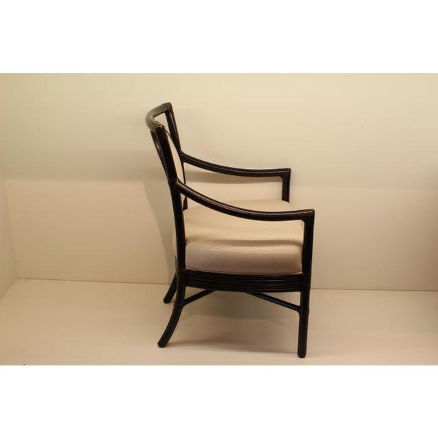 McGuire Orlando Diaz-Azcuy Salon Arm Chair - Image 4 of 6
