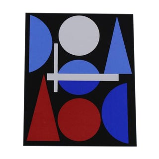 Auguste Herbin Modern Serigraph