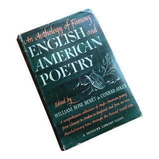 1940s American & English Poetry Compilation