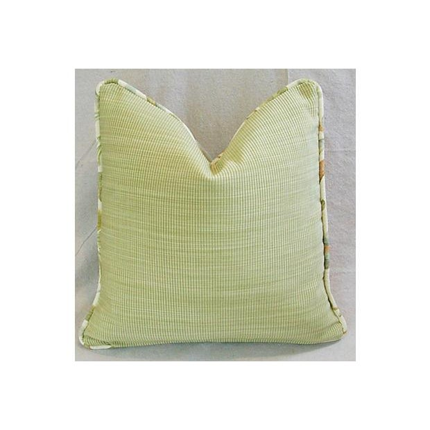 Designer Custom Acquitaine Lyceana Floral Pillow - Image 5 of 5