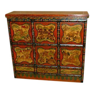 Decorated Tibetan Chest