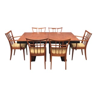 Paul Frankl Oak Dining Set