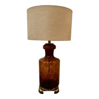 Mid-Century Murano Table Lamp