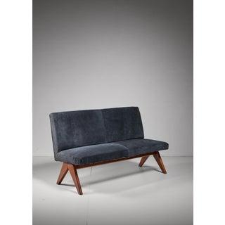 Pierre Jeanneret Chandigarh V-leg bench,India, 1950s