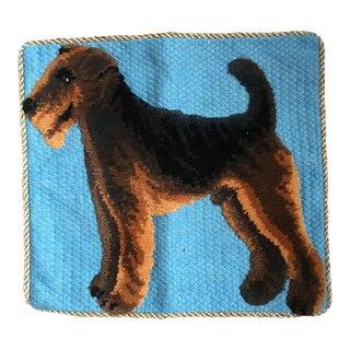 Welsh Terrier Plush Dog Pillow