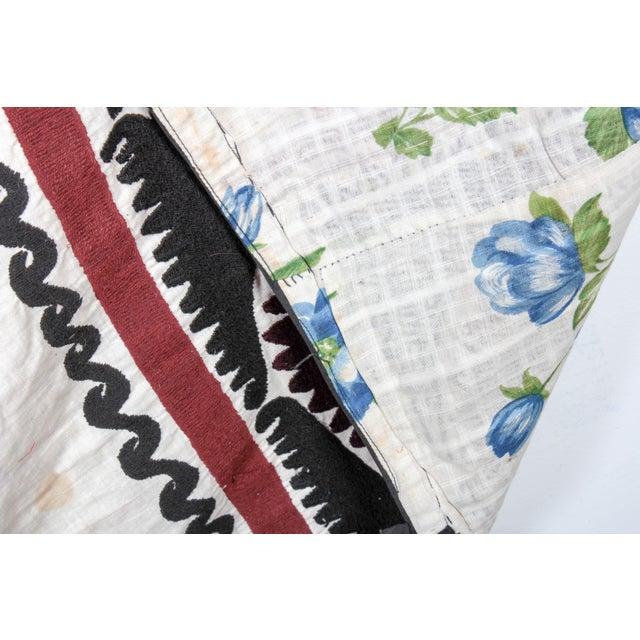 Embroidered Vintage Prayer Suzani - Image 6 of 7