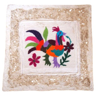 Otomi Embroidered Folk Art - Rooster II