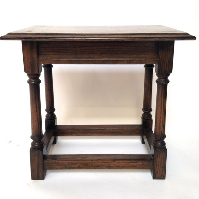 louis xiii petit console side table chairish. Black Bedroom Furniture Sets. Home Design Ideas
