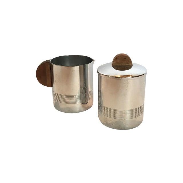 Image of Bauhaus Creamer and Sugar Bowl Set