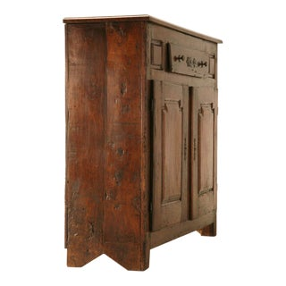 Early 18th C. French Figured Cherry 1 Over 2 Buffet