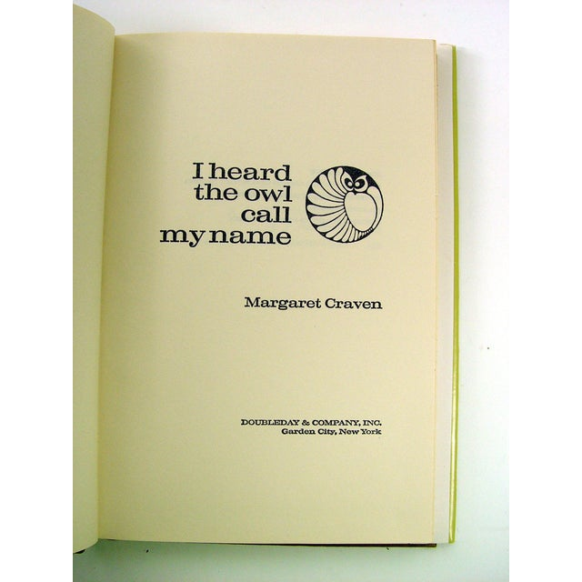 I Heard the Owl Call My Name by Margaret Craven - Image 4 of 5